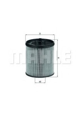 Фильтры масляные Масляный фильтр KNECHT арт. OX182D