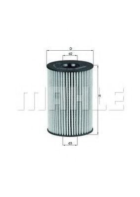 Фильтры масляные Масляный фильтр KNECHT арт. OX3537D