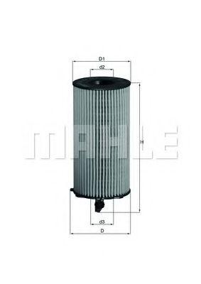 Фильтры масляные Масляный фильтр KNECHT арт. OX354D