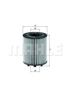 Фильтры масляные Масляный фильтр KNECHT арт. OX371D