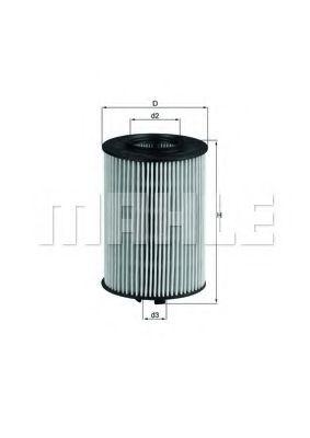 Фильтры масляные Масляный фильтр KNECHT арт. OX382D
