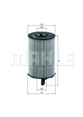 Фильтры масляные Масляный фильтр KNECHT арт. OX420D