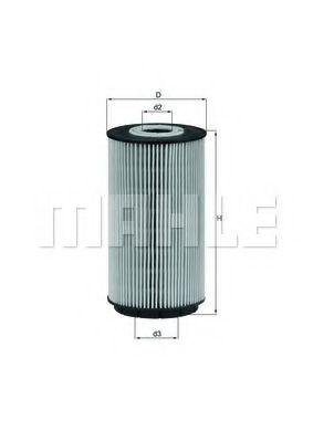 Фильтры масляные Масляный фильтр KNECHT арт. OX557D