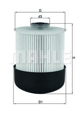 Фильтры топливные Топливный фильтр KNECHT арт. KX33826D