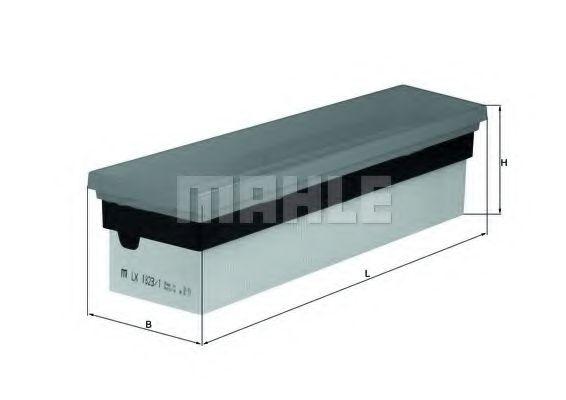 Фильтры воздуха салона автомобиля Воздушный фильтр KNECHT арт. LX18231