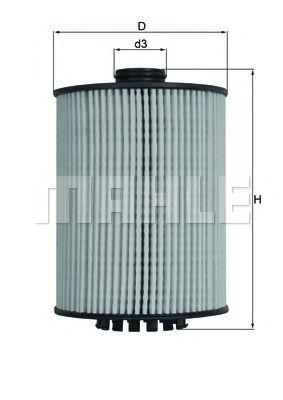 Фильтры масляные Масляный фильтр KNECHT арт. OX983D