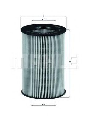 Повітряний фільтр Knecht LX1805