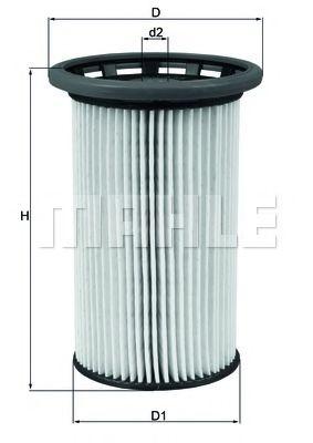 Фильтры топливные Топливный фильтр KNECHT арт. KX342