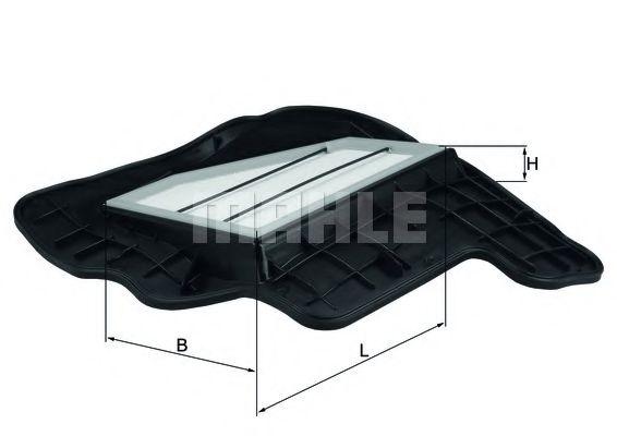 Фильтры воздуха салона автомобиля Воздушный фильтр KNECHT арт. LX16855