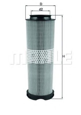 Фильтры воздуха салона автомобиля Воздушный фильтр KNECHT арт. LX1020