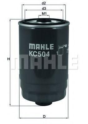 Фильтры топливные Топливный фильтр KNECHT арт. KC504