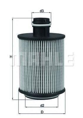 Фильтры масляные Масляный фильтр KNECHT арт. OX559D