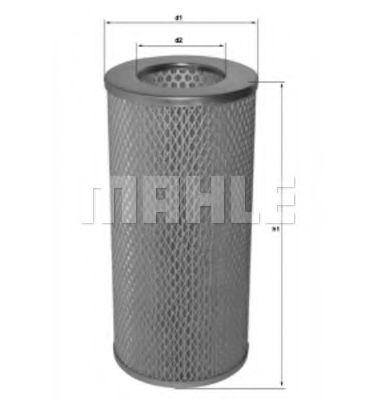 Фильтры воздуха салона автомобиля Воздушный фильтр KNECHT арт. LX941