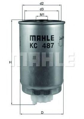 Фильтры топливные Топливный фильтр KNECHT арт. KC487