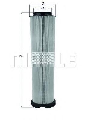 Фильтры воздуха салона автомобиля Воздушный фильтр KNECHT арт. LX8166