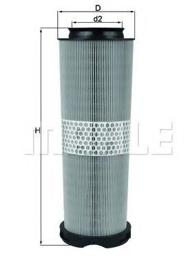 Фильтры воздуха салона автомобиля Воздушный фильтр KNECHT арт. LX10201