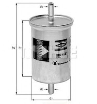 Фильтры топливные Топливный фильтр KNECHT арт. KL2