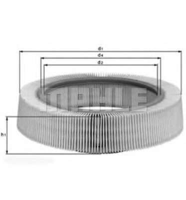 Воздушный фильтр KNECHT арт. LX61