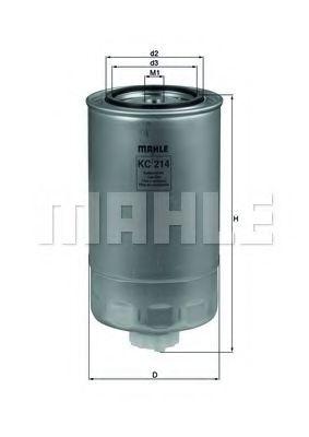 Фильтры топливные Топливный фильтр KNECHT арт. KC214