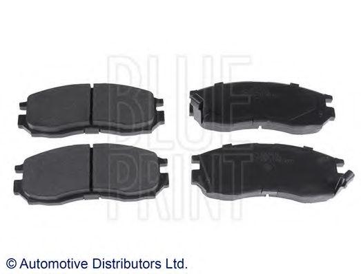 Комплект тормозных колодок, дисковый тормоз BLUEPRINT арт. ADC44242