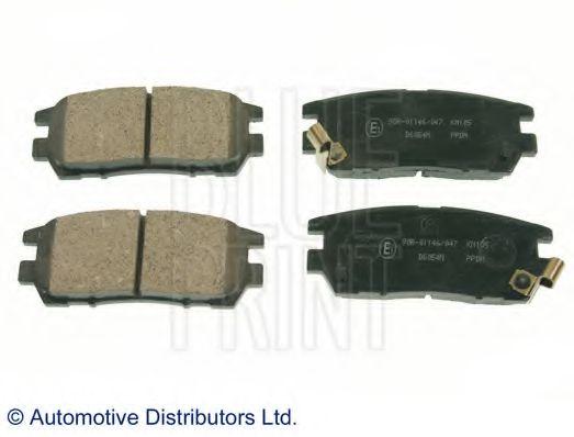 Комплект тормозных колодок, дисковый тормоз BLUEPRINT арт. ADC44243