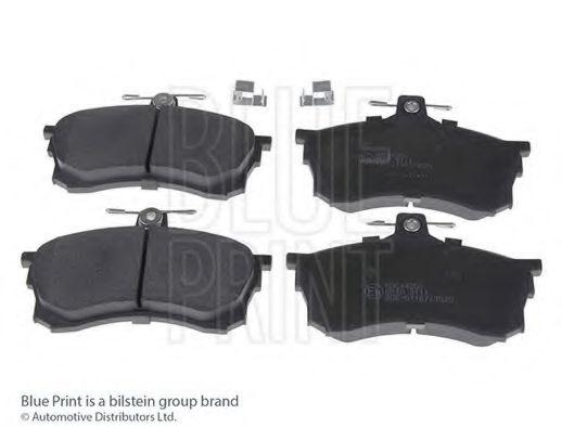 Комплект тормозных колодок, дисковый тормоз BLUEPRINT арт. ADC44256