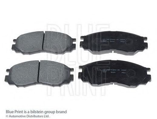 Комплект тормозных колодок, дисковый тормоз BLUEPRINT арт. ADC44257