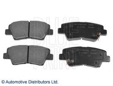 Комплект тормозных колодок, дисковый тормоз BLUEPRINT арт. ADG042109