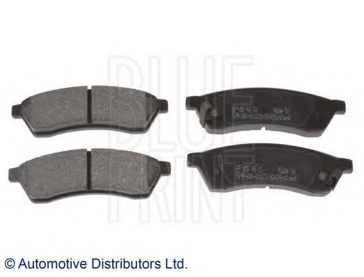 Комплект тормозных колодок, дисковый тормоз BLUEPRINT арт. ADG042114