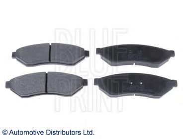 Комплект тормозных колодок, дисковый тормоз BLUEPRINT арт. ADG042144