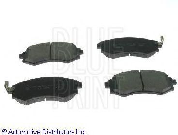 Комплект тормозных колодок, дисковый тормоз BLUEPRINT арт. ADG04233