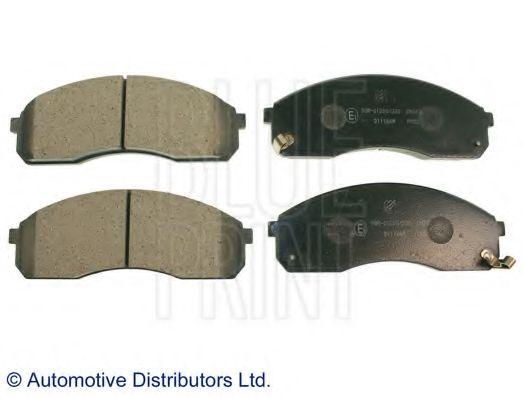 Комплект тормозных колодок, дисковый тормоз BLUEPRINT арт. ADG04236
