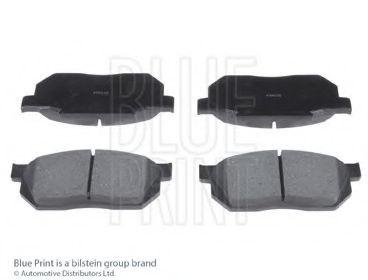 Комплект тормозных колодок, дисковый тормоз BLUEPRINT арт. ADH24207