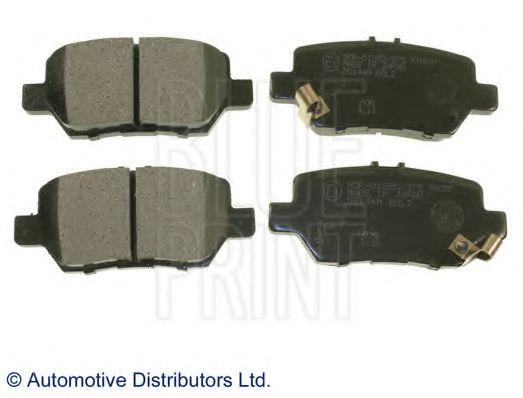 Комплект тормозных колодок, дисковый тормоз BLUEPRINT арт. ADH24278