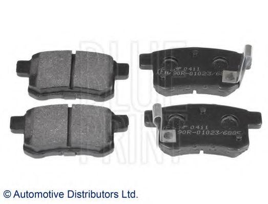 Комплект тормозных колодок, дисковый тормоз BLUEPRINT арт. ADH24281