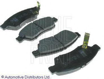 Комплект тормозных колодок, дисковый тормоз BLUEPRINT арт. ADK84231