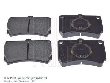 Комплект тормозных колодок, дисковый тормоз BLUEPRINT арт. ADM54211
