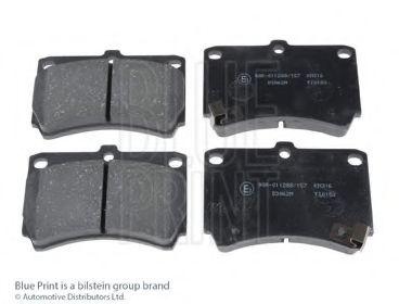 Комплект тормозных колодок, дисковый тормоз BLUEPRINT арт. ADM54249