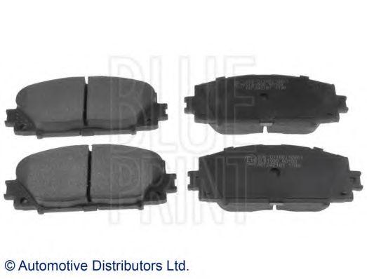 Комплект тормозных колодок, дисковый тормоз BLUEPRINT арт. ADT342181