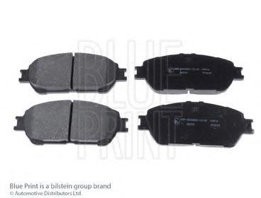 Комплект тормозных колодок, дисковый тормоз BLUEPRINT арт. ADT342193