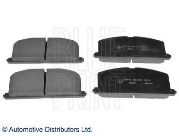 Комплект тормозных колодок, дисковый тормоз BLUEPRINT арт. ADT34279