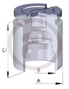 Поршень, корпус скобы тормоза AUTOFREN SEINSA - D02593