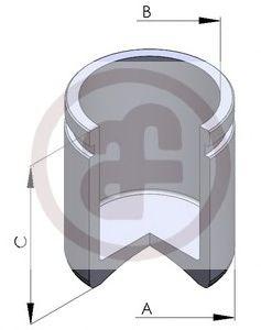 Поршень, корпус скобы тормоза AUTOFREN SEINSA - D02597