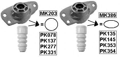 Пылезащитный комплект, амортизатор MONROE арт. PK078