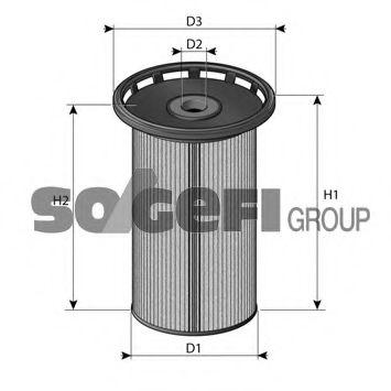 Фильтры топливные Топливный фильтр PURFLUX арт. C803