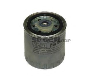 Фильтры топливные Топливный фильтр PURFLUX арт.
