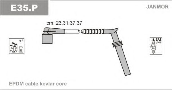 Комплект проводов зажигания JANMOR арт. E35P