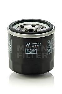 Масляный фильтр MANN - W672