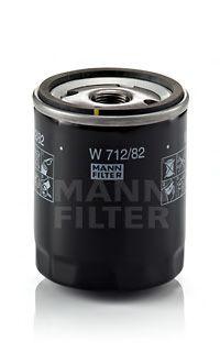 Фільтр масляний MANN W71282