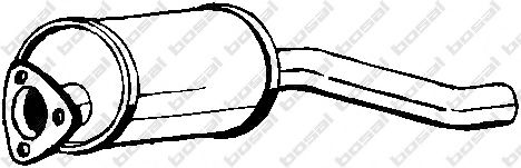 Предглушитель выхлопных газов BOSAL арт. 105059